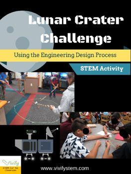 STEM Lunar Crater Design Challenge (Engineering Design Process)