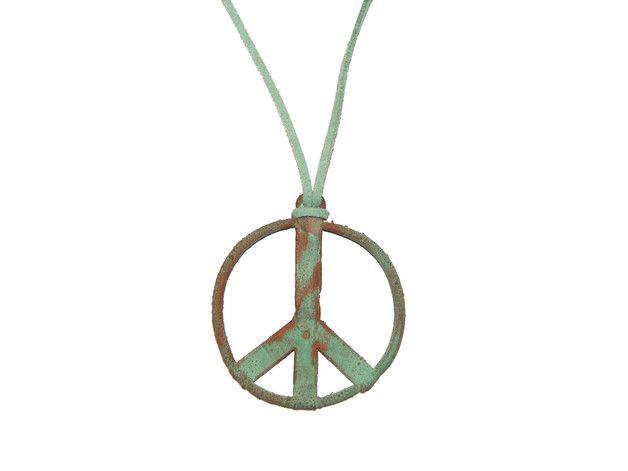 PEACE - tybetanskimnich - Naszyjniki długie
