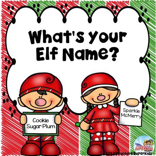 Best 25 Christmas Elf Name Generator Ideas On Pinterest