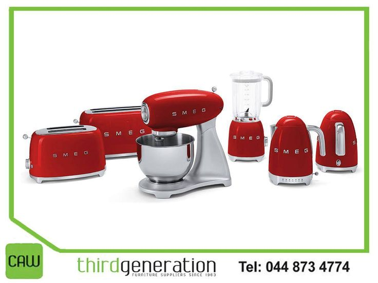 At #ThirdGenerationCAW, we offer premium quality domestic #Smeg appliances, which combine technology with Italian style. Visit us in-store or contact us on 044 873 4774. #lifestyle #appliances
