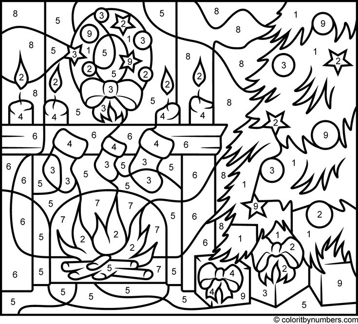 Christmas Fireplace - Hard