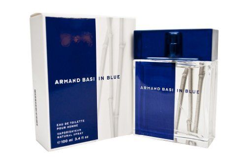 ARMAND BASI IN BLUE by Armand Basi Cologne for Men (EDT SPRAY 3.4 OZ) by ARMAND BASI IN BLUE. $23.75. Year Introduced: 2005. Size: 3.4 OZ. 100 % Genuine Fragrance.. Concentration: Eau De Toilette. 100% Authentic ARMAND BASI IN BLUE by Armand Basi Cologne for Men (EDT SPRAY 3.4 OZ). Manufactured by the design house of Armand Basi. ARMAND BASI IN BLUE for MEN possesses a blend of Mandarin, Grapefruit, Bergamot, Neroli, Lotus Flower, Hardwoods, Coriander leaves, Blackcurrant Sh...