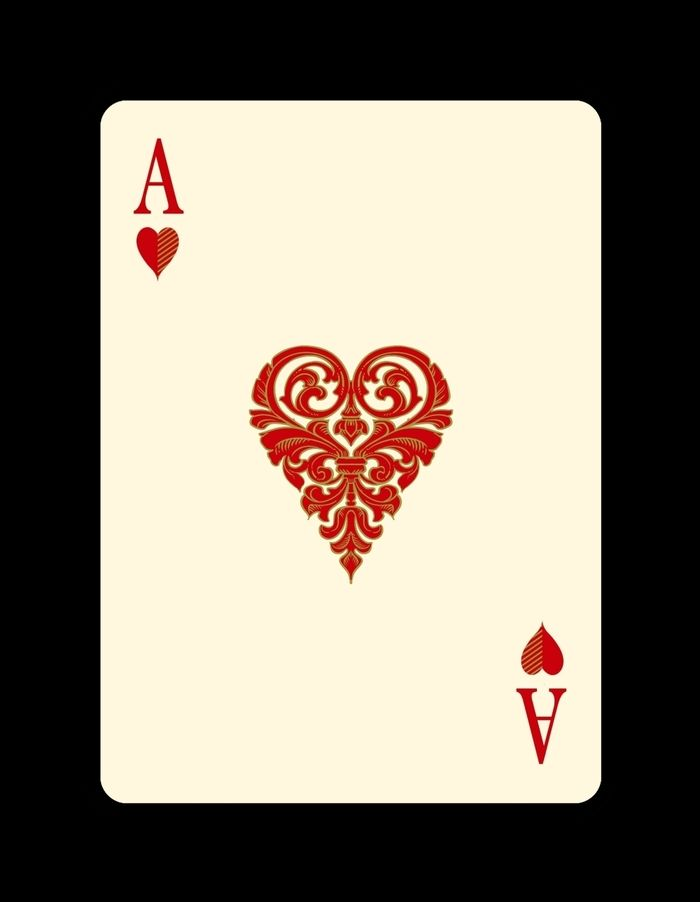 King Queen Jack Ace Of Hearts