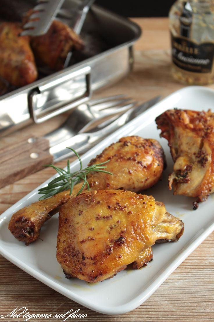 POLLO ALLA SENAPE Ecco la #ricetta per ottenere una cottura perfetta! #pollo #senape