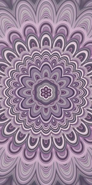 Purple Floral Mandala Art Print by David Zydd #designgift #artwork #art #giftidea