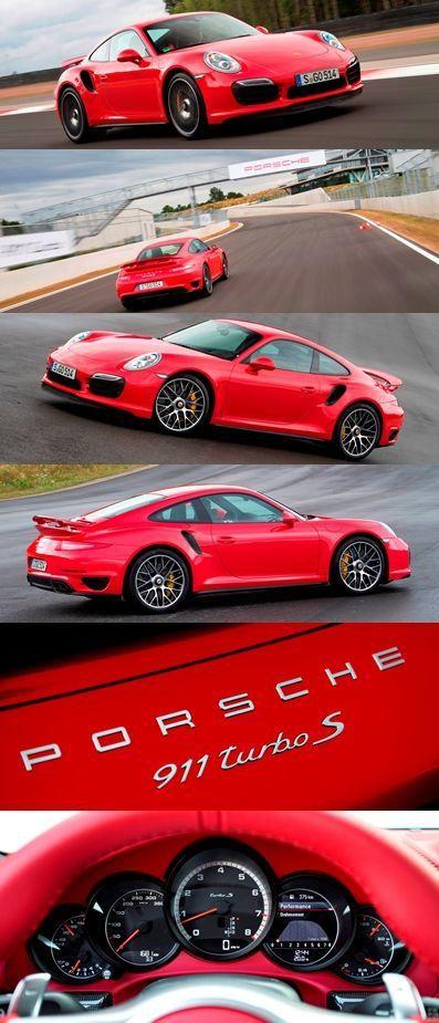 Porsche 911 Turbo S!