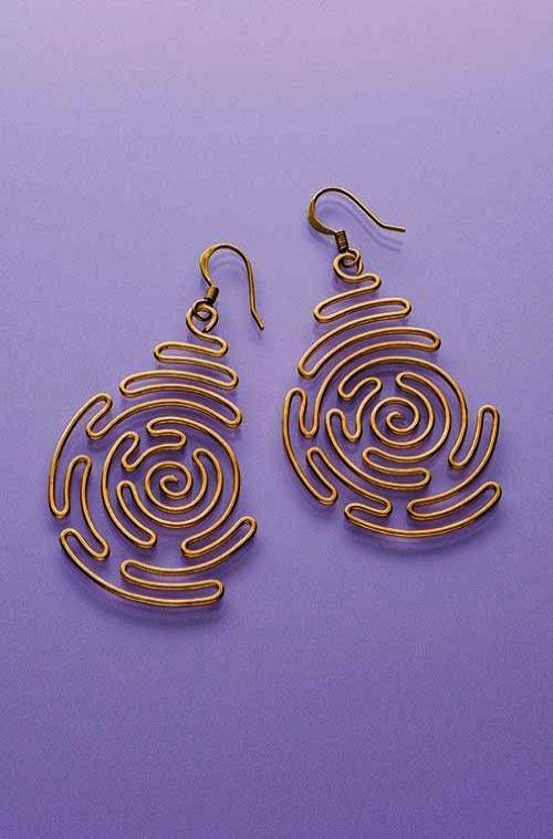 Excellent Simple Wire Earring Designs D