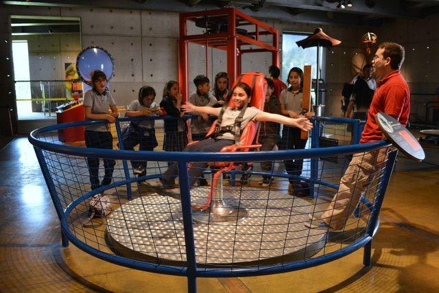 Museo Interactivo Mirador Santiago de Chile, para aprender como jugando