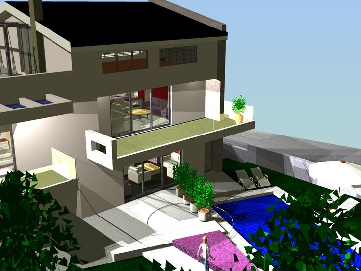 Κατοικία στα Βριλήσια by Greek architect Orfanos G.