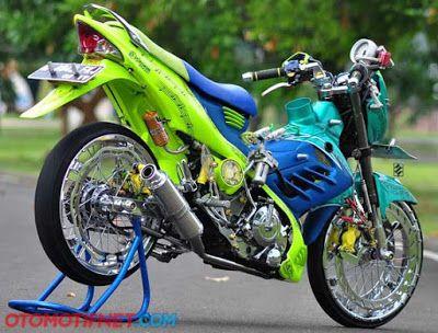 Modifikasi Motor Suzuki Satria FU 150