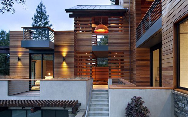 awesome 160+ Wood Screen Facade Design Ideas
