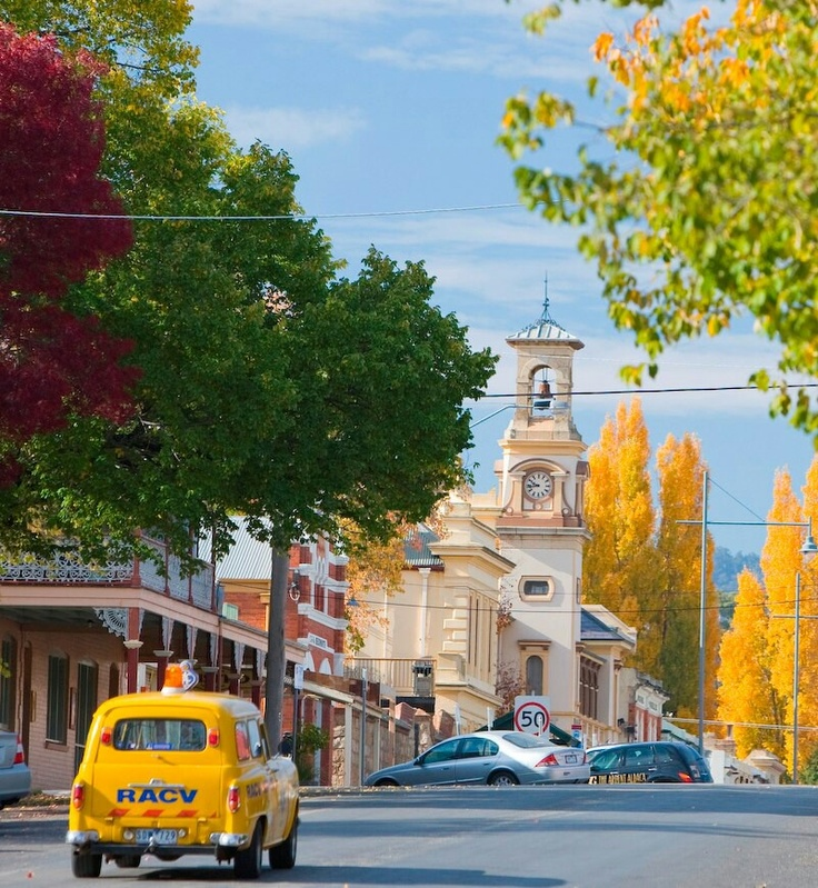 I am so lucky to have stockists in lovely towns like Beechworth.  Such a beautiful, beautiful place.