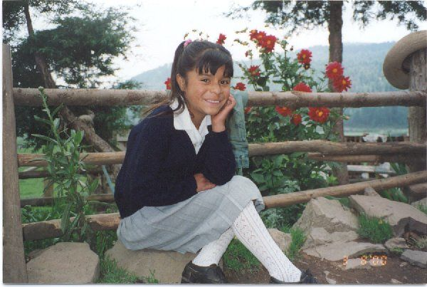 A short slideshow of a typical day in the life of a little girl living in rural México.