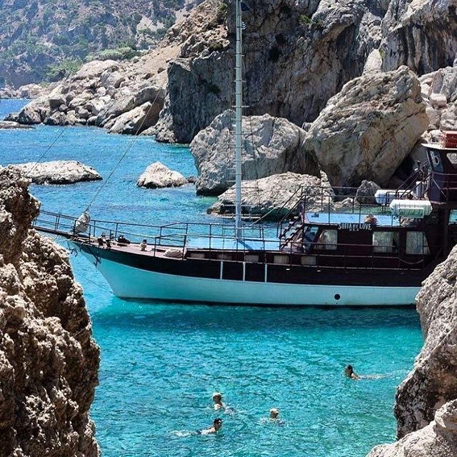 Live in the Sunshine, Swim in the Sea, Drink the Wild Air. #karpathos #greece