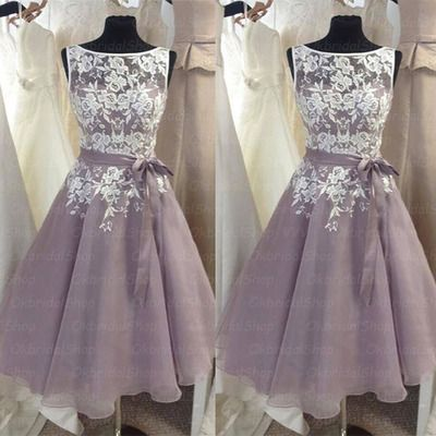 2016 New Arrival Charming Prom Dress,Short Prom Dress,Organza Bridesmaid Dress,Homecoming Dress ,