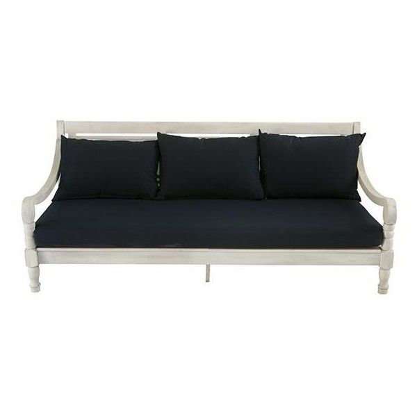 Pasadena Outdoor Daybed (1,640 CAD) ❤ liked on Polyvore featuring home, outdoors, patio furniture, outdoor loungers & day beds, outside daybed, outdoor patio furniture, weather resistant patio furniture, outside day bed and outdoor garden furniture