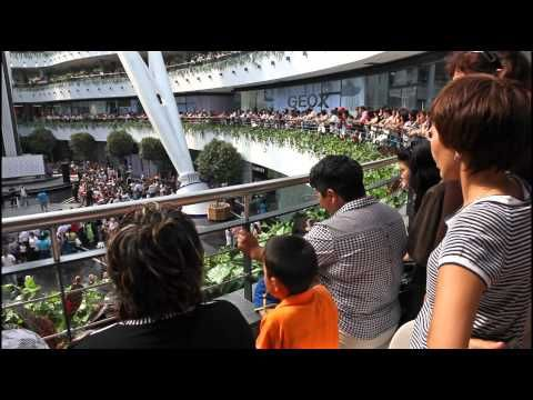 Khan Shatyr tented Entertainment Centre,shoping mall, Astana, Kazakhstan - YouTube