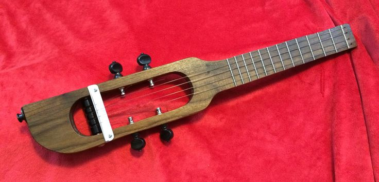 Circuits and Strings, free plans for custom ukulele projects