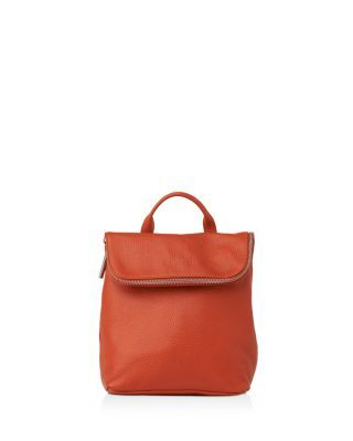 WHISTLES Verity Mini Leather Backpack. #whistles #bags #leather #lining #backpacks #cotton #