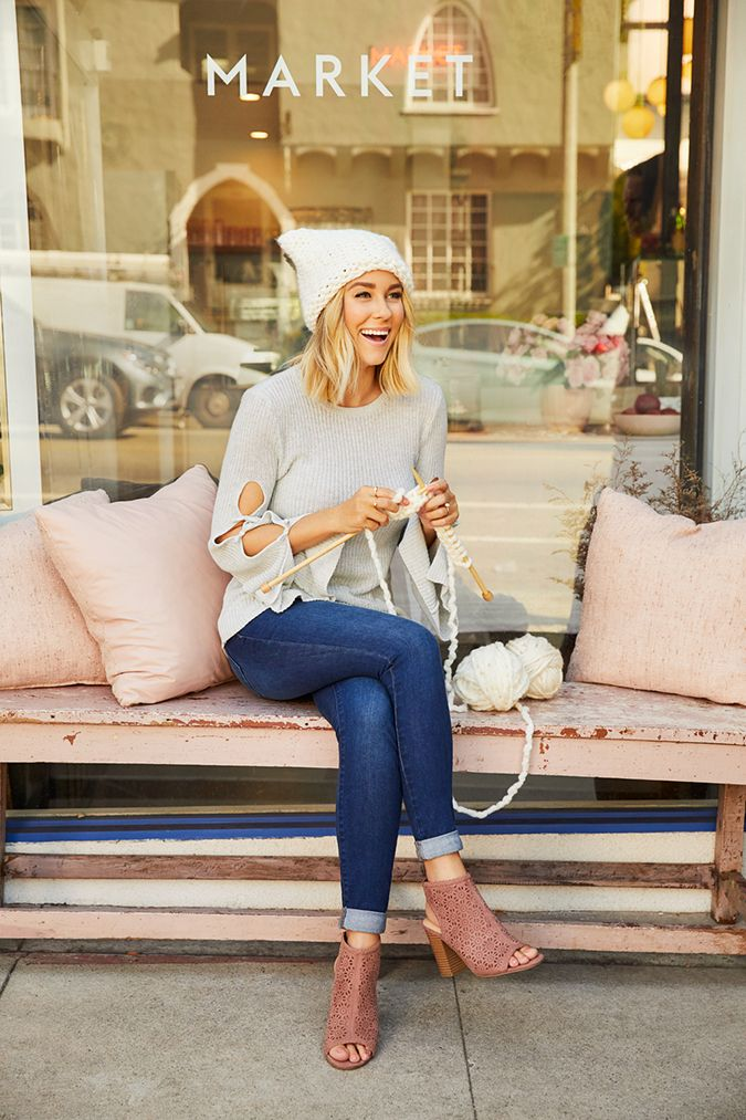 Lauren Conrad in her latest collection for Kohl's