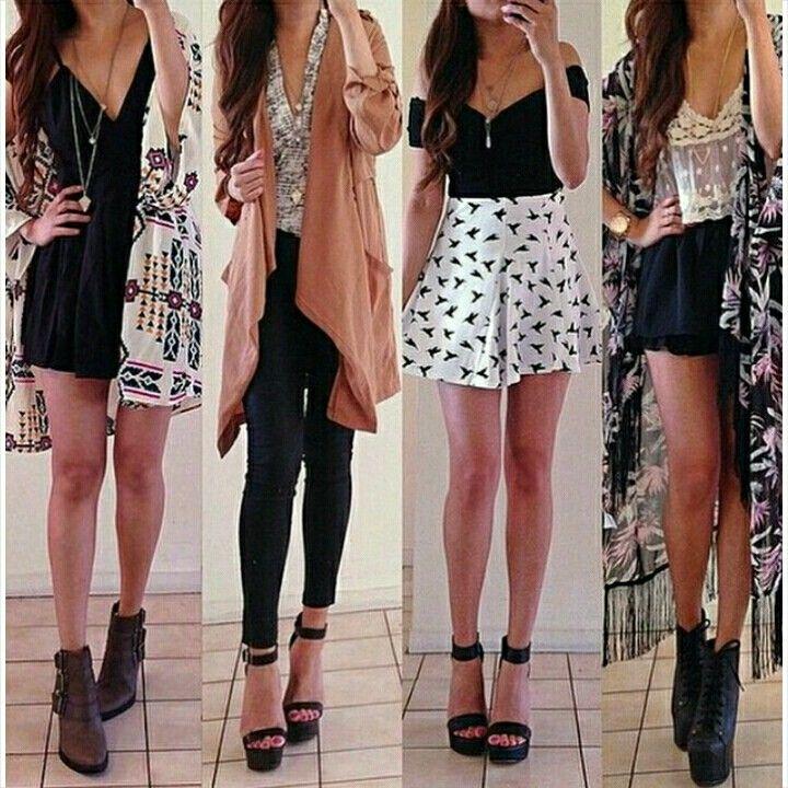 Outfits by: rinasenorita