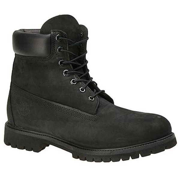 Timberland Premium Boot Men's Black Boot (235 CAD) ❤ liked on Polyvore featuring men's fashion, men's shoes, men's boots, men's work boots, black, mens black waterproof boots, mens waterproof work boots, mens black boots, mens black lace up boots and timberland mens boots