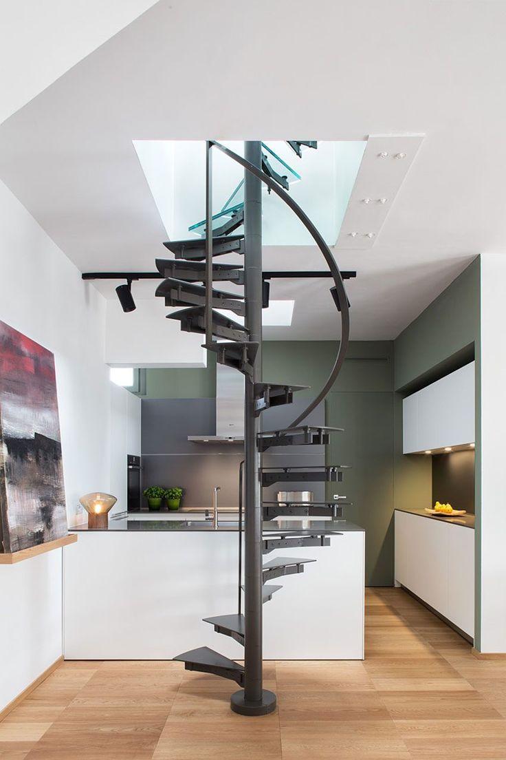 Les 20 meilleures images du tableau escalier design sur for Deco appartement 38m2