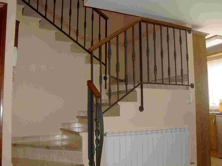 Barandas de hierro stairs pinterest - Barandas para escaleras de hierro ...