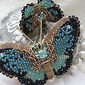 "Handmade Jewelry.  Fair Masters - handmade brooch butterfly ""BB13-001.""  Handmade."