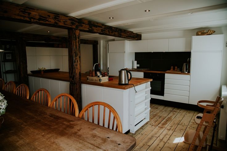 Kitchen at Andelen Guesthouse