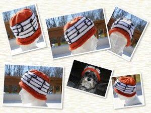 Musical knitting patterns