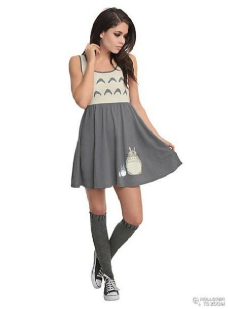Not just for emo kids! Show your love for Ghibli films with clothes from HotTopic