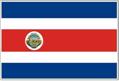 La bandera de Costa Rica representa la independencia. El día de la independencia en Costa Rica es el 15 septiembre, 1821.