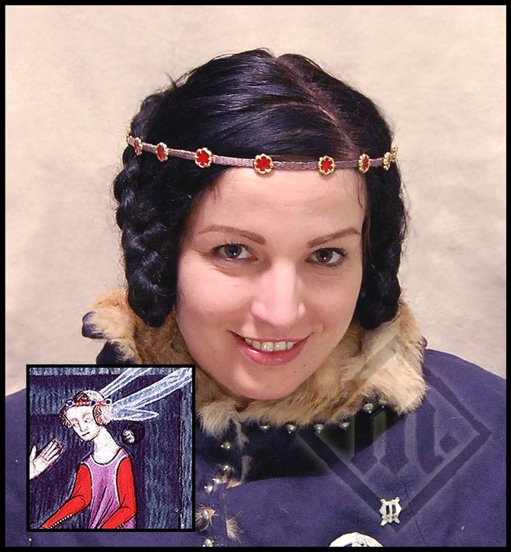 199 Best Images About Medieval Hair Accessories On