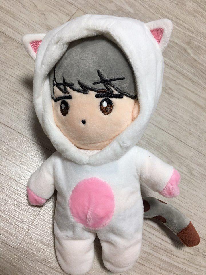 "Exo Doll Sehun Oh Sehun Doll ""White Huni "" Korea Fanmade Plush Doll   eBay"
