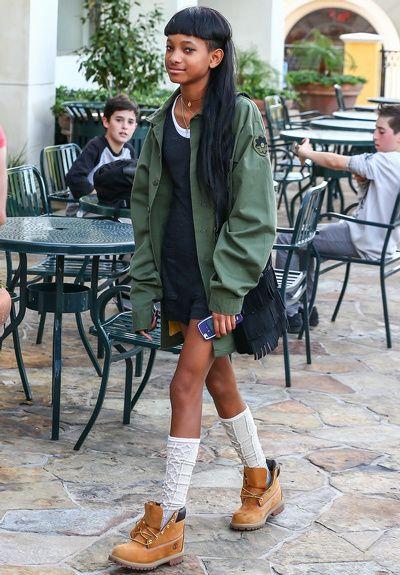 Willow Smith milite pour le come-back des boots Caterpillar...