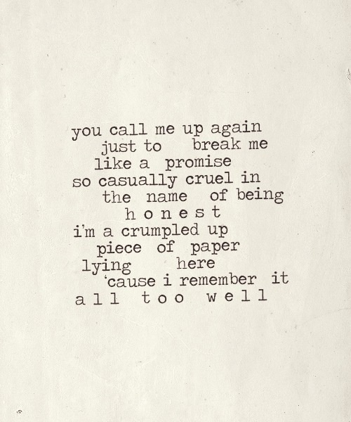 All too well- taylor swift   Quotes 'N Stuff   Pinterest