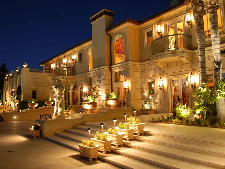 artistic outdoor lighting. santa fe landscape lighting by artistic illumination outdoor