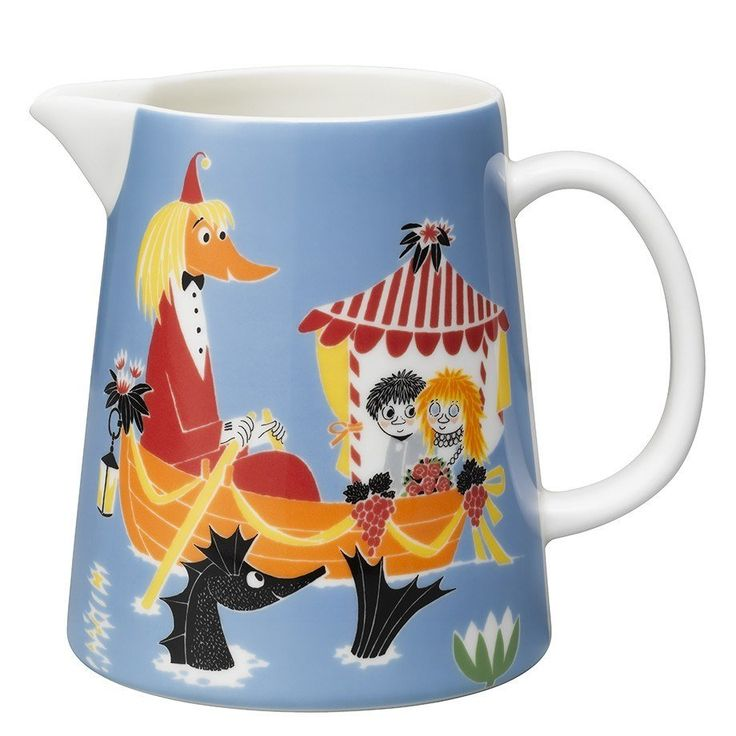 Moomin Friendship pitcher 1 l by Arabia - The Official Moomin Shop  - 1