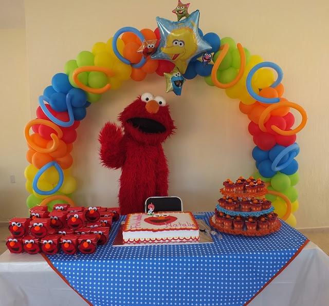 Elmo birthday party!!