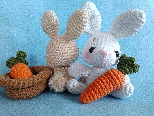 Ravelry: Amigurumi Pattern-Baby Bunny pattern by Lucy Rose.