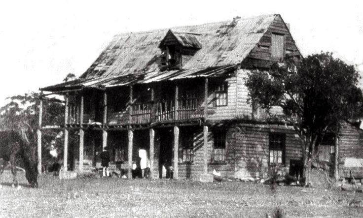 Jonathan Warner's house in 1926 at Warners Bay