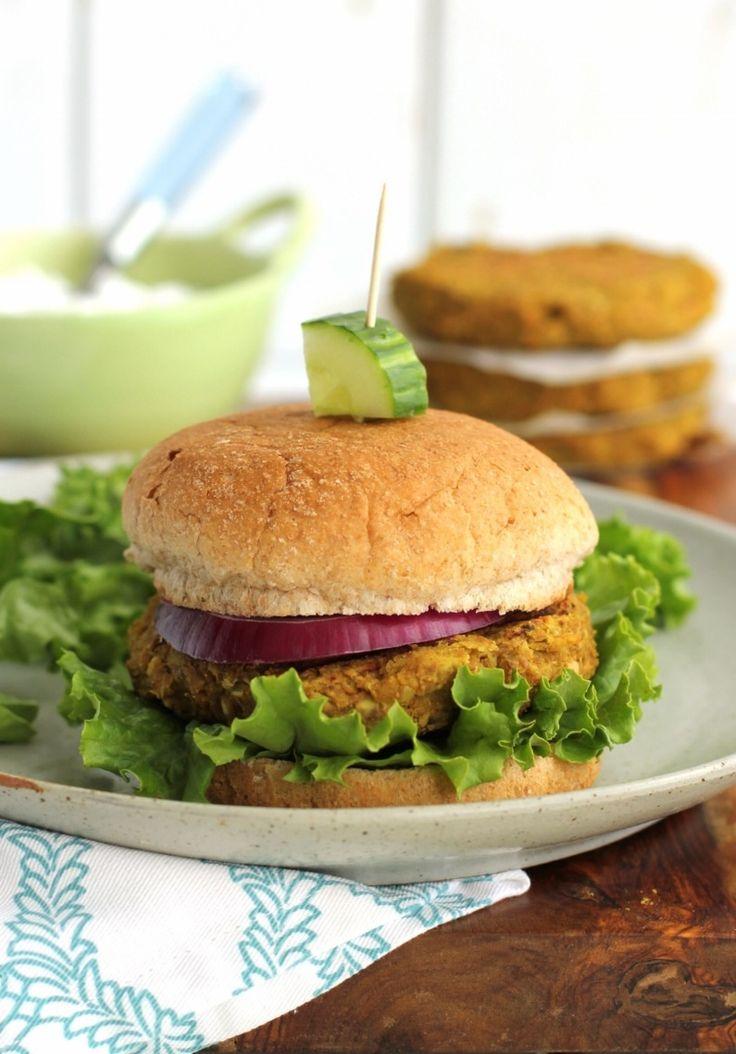 ... Veggie Burgers on Pinterest | Falafels, Quinoa veggie burger and Bean