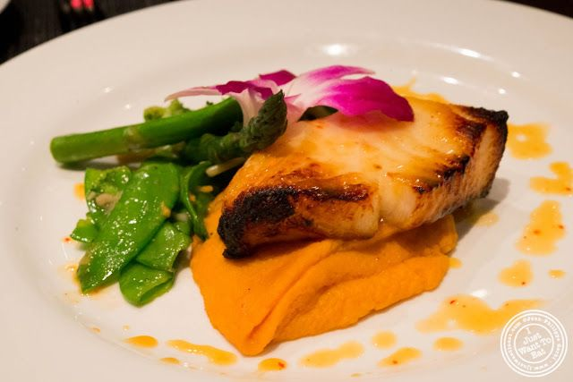 image of Chilean Sea Bass at Aji 53, Japanese restaurant in Brooklyn, New York