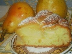 Самые вкусные рецепты: Грушевый пирог на дрожжевом тесте