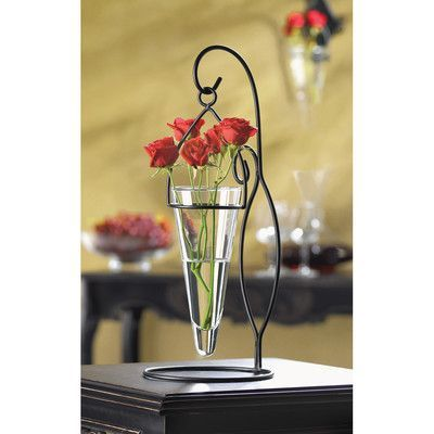 Zingz & Thingz Modern Tabletop Pendant Vase