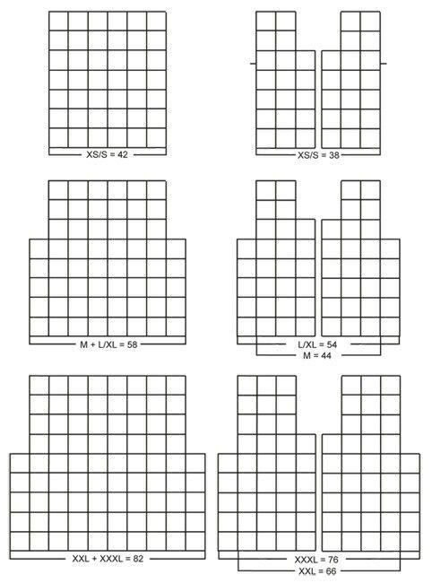 Cardigan granny squares