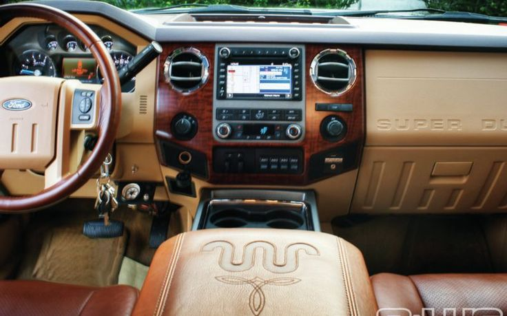 2011 Ford F450 4X4 King Ranch  Interior