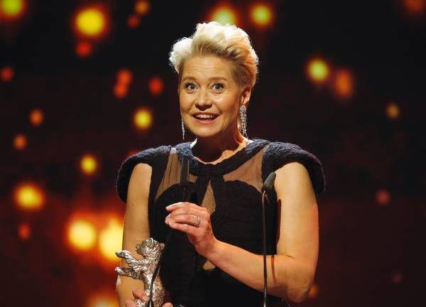 Den danske skuespillerinde fejrede sølvbjørne-sejren med en gin og tonic, mens hun talte med Ekstra Bladet