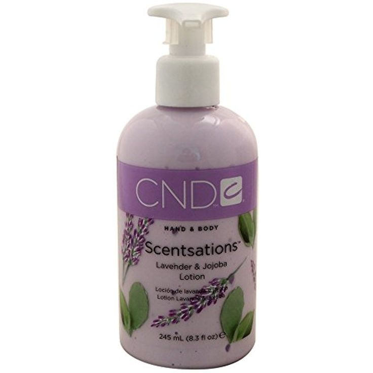CND Scentsations Hand And Body Lotion Lavender Jojoba 83 Fl Oz Check